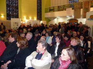 Großer Andrang in der Berger Kirche